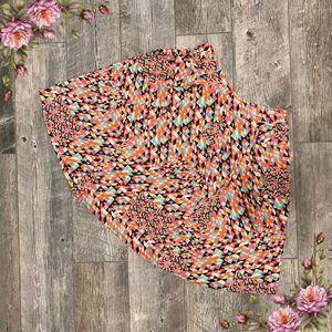 LuLaRoe madison geometric skirt